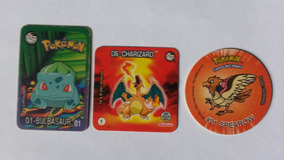 Todas Colecoes Tazos Pokemon Da Elma Chips Completas