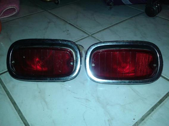 Raro Par De Lanternas Traseiras Chevrolet C-10/c-14/d-10.