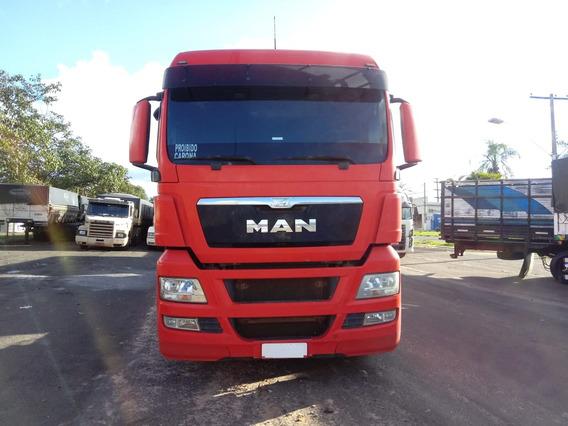 Man Tgx 29-440 6x4 Ano 2014/2015 Teto Alto Bug Leve