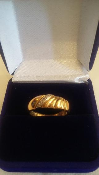 Anel Em Ouro 18k 750