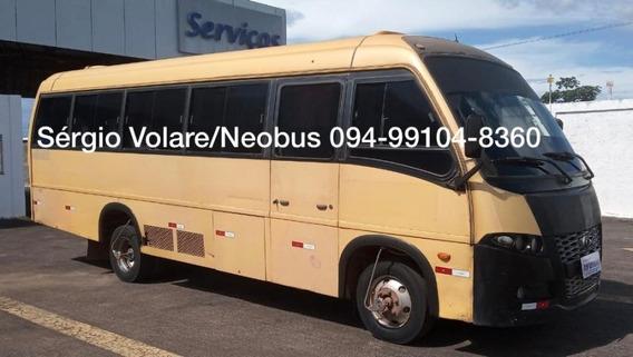 Micro Ônibus Volare W9 Executivo Cor Amarela Ano 2009/2010