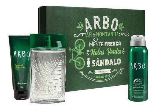 Kit Perfume Arbo Da Boticário