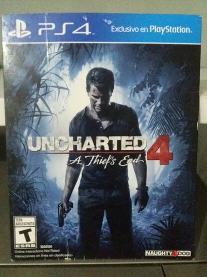 Uncharted Semi Novo Do Ps4