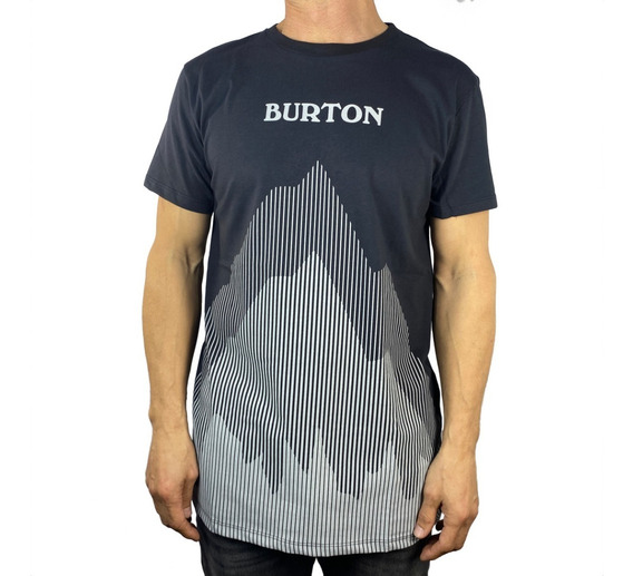 Remera Burton Mc Faded Lines