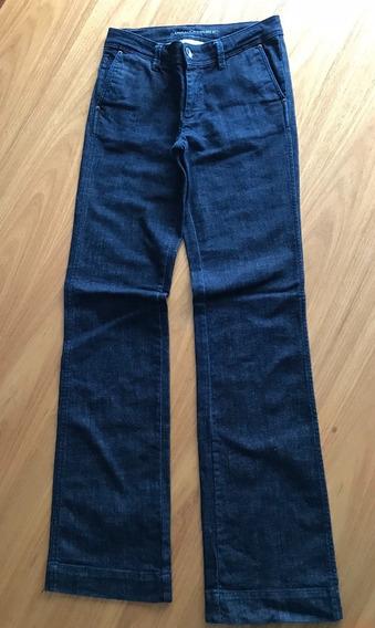 Calça Alfaiataria Azul Jeans