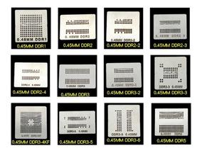 Stencil Memória Ddr Xbox Ps3 Ps4 Calor Direto Bga Reballing