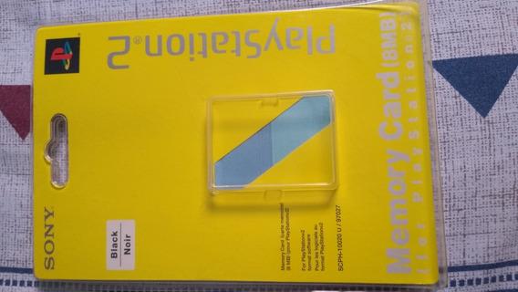 Memory Card Ps2 - Original Sony - Raríssimo - Frete Grátis