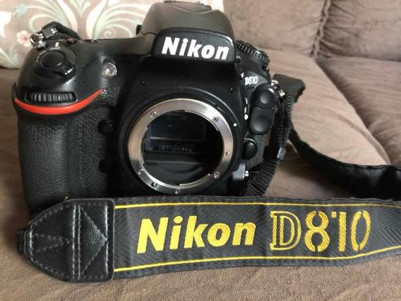 Câmera Dslr Nikon D810 Corpo Usada