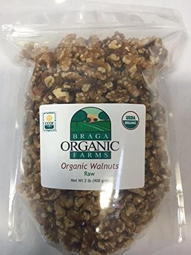 Braga Organic Farms Nueces Orgánicas, 2 Libras