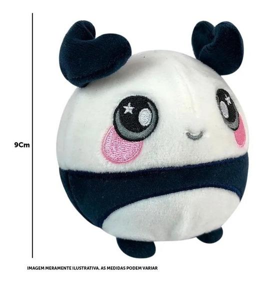 Pelúcia Squishamals - Pip O Urso Panda - Toyng