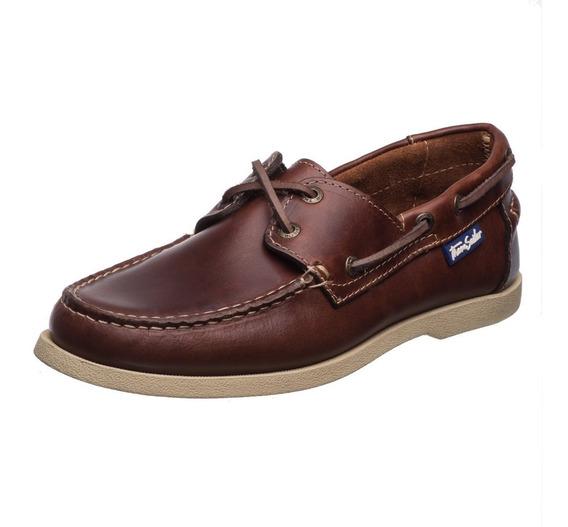 Zapatos Thom Sailor Caballero Nautico Cuero