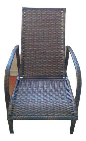 Cadeira Espreguiçadeira Para Piscina Ou Praia (c/5regulagens
