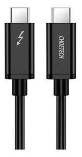 Choetech Certificado Thunderbolt 3 Usb-c Cable (2m/6.5ft)? P