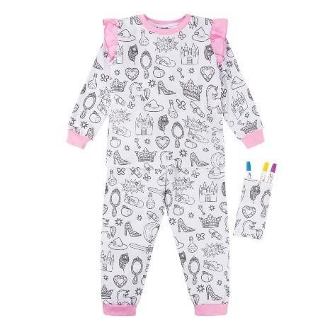 Pijama Menina Feminina Manga Longa E Calça Tam 4 8 E 12