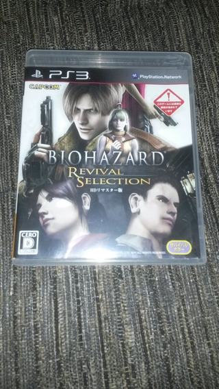 Resident Evil 4 Ps3 Midia Fisica Biohazard Revival Selection