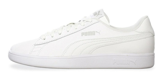 Tenis Puma Smash V2 L - 36521507 - Blanco - Hombre
