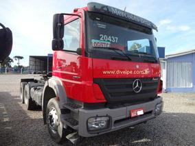 Mercedes-benz Axor 2831 Cavalo Traçado 6x4 2012 Vermelho