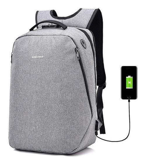 Lazer Anti -theft Trancar Laptop Mochila Com Usb Porto Para