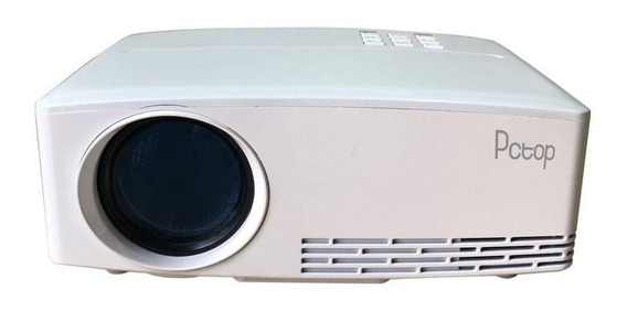 Mini Projetor Gp80 2000 Lumens Svga Pronta Entrega C/ Nfe