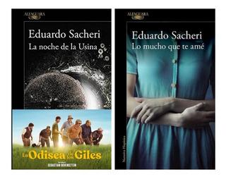 Noche Usina + Lo Mucho Que Te Ame - Sacheri - 2 Libros