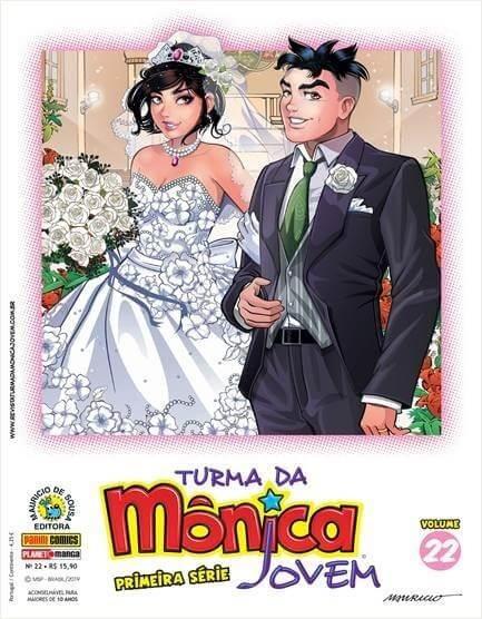 Turma Da Mônica Jovem - Vol 22 - Primeira Série - Ed 49 E 50