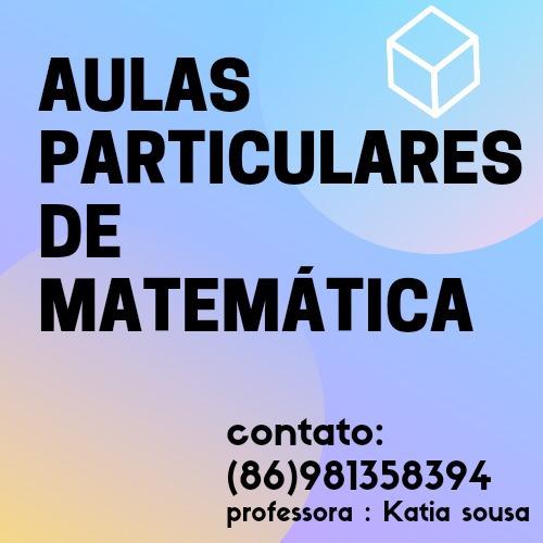 Imagem 1 de 1 de Aulas Particulares De Matemática ( Concursos, Enem E Etc)