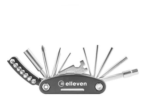 Canivete Elleven 16 Funções Kit Chave Allen Ferramenta Bike