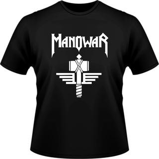 Camiseta Masculina Heavy Manowar Camisa Metal