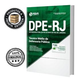 Apostila Dpe-rj 2019 Técnico Médio Defensoria Pública - Nova