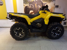 Cuatriciclo Can Am Outlander 800r Xt 2012 Amarillo 13.000km