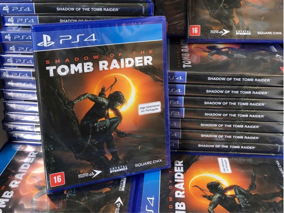 Shadow Of The Tomb Raider Mídia Física Ps4 Promoção