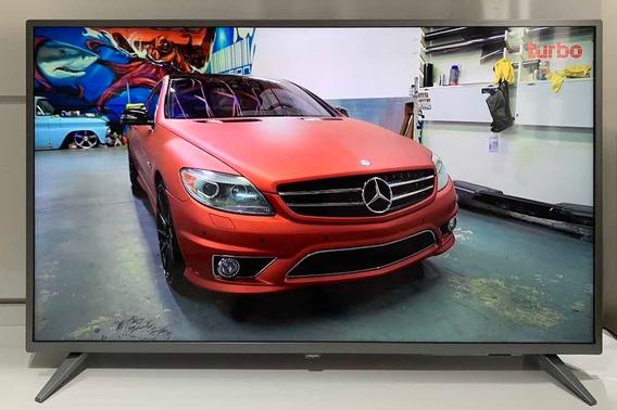Tv Philips 50 Smart Ultra Slim 4k Uhd Led Semi-nova