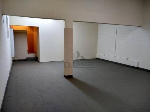 Salão Para Alugar, 265 M² Por R$ 2.300,00/mês - Swift - Campinas/sp - Sl0841