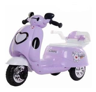 Moto Electrica De Mickey Mouse Para Niñas Hasta 5 Años,