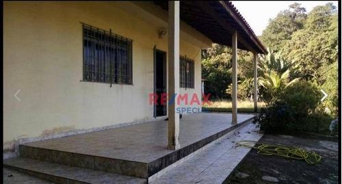 Chácara Com 2 Dormitórios À Venda, 1800 M² Por R$ 450.000,00 - Sítios De Recreio  Rober  - Guarulhos/sp - Ch0003