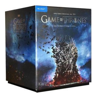 Game Of Thrones Serie Completa Temporadas 1-8 Boxset Blu-ray