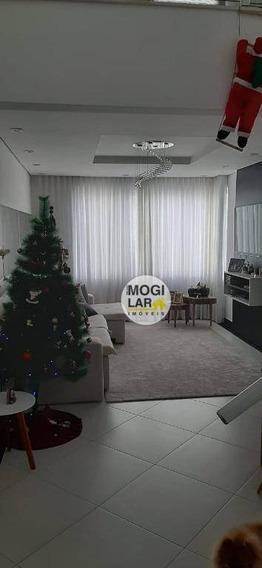 Cobertura À Venda, 144 M² Por R$ 690.000,00 - Vila Oliveira - Mogi Das Cruzes/sp - Co0005