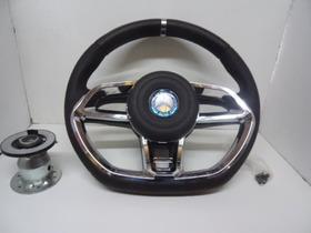 Volante Vision Cromado Caminhão Mercedes Benz Mb Ate 1989