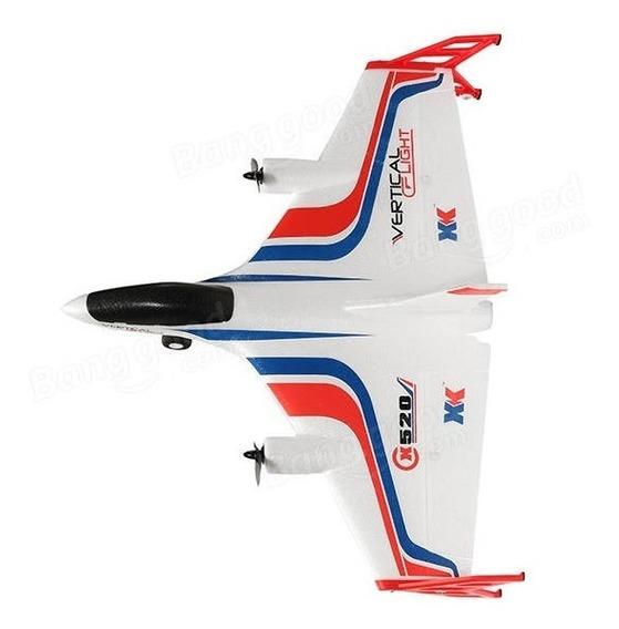 Aeromodelo 3d X520 6ch 2 Motores Brushlles Completo C/ Fpv