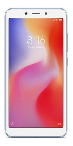 Xiaomi Redmi 6 Dual Sim 64 Gb Azul 3 Gb Ram