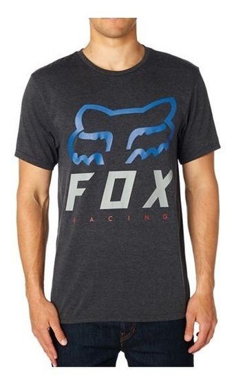Playera Fox Hombre Heritage Forger Ss Tech Tee Casual Moda
