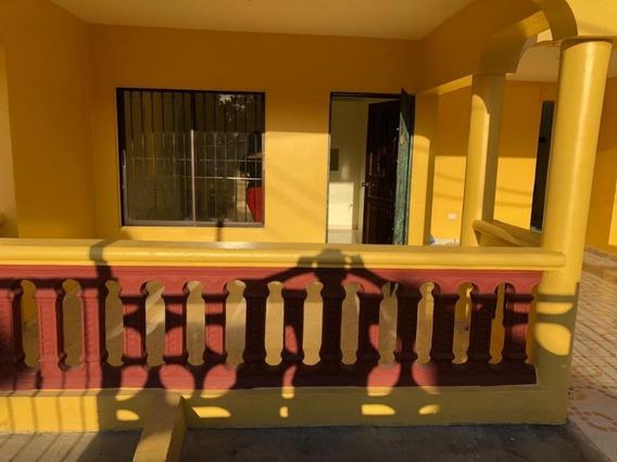 Alquilo Apto Villa Mella En El Edén 1er Piso