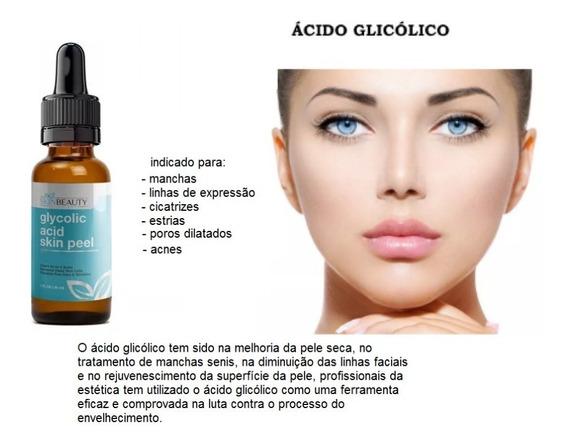 Serum Ac Glicólico 10% Skinbeauty Manchas Estrias Anti-rugas