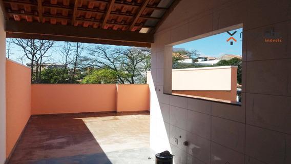 Cobertura Com 2 Dormitórios À Venda, 50 M² Por R$ 295.000 - Jardim Santo Alberto - Santo André/sp - Co0305