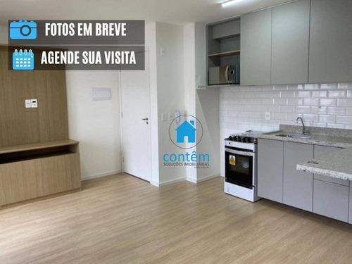 Studio Com 1 Dormitório Para Alugar, 27 M² Por R$ 1.900/mês - Sé - São Paulo/sp - St0058