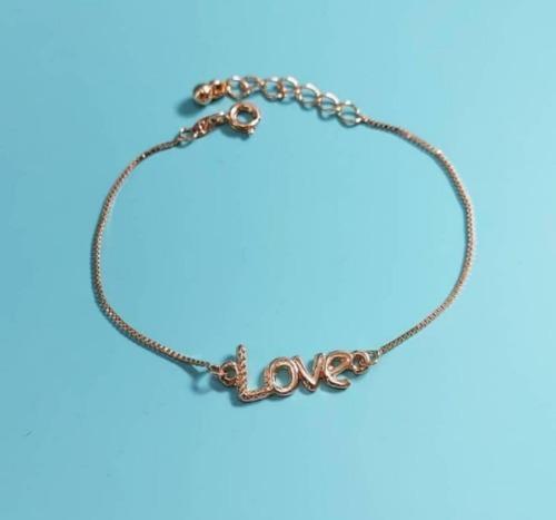 Pulseira Love Elo Pequeno. (pu0003)