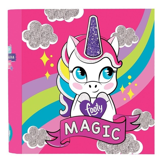 Carpeta Unicornio Glitter Nº 3- Footy Oficial