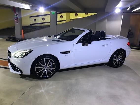 Mercedes Benz Slc43 Amg Blanca Unica Por Su Estado Nueva