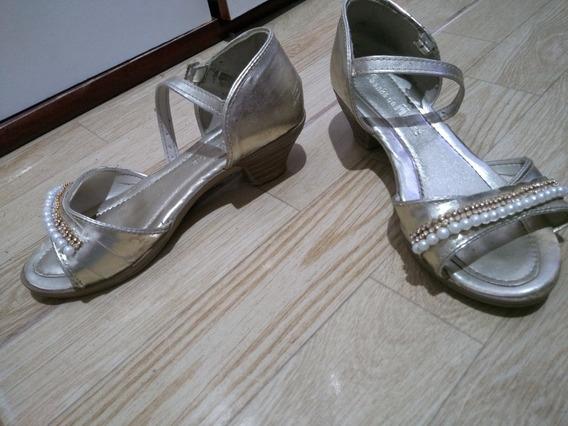 Sapato Com Salto Baixo