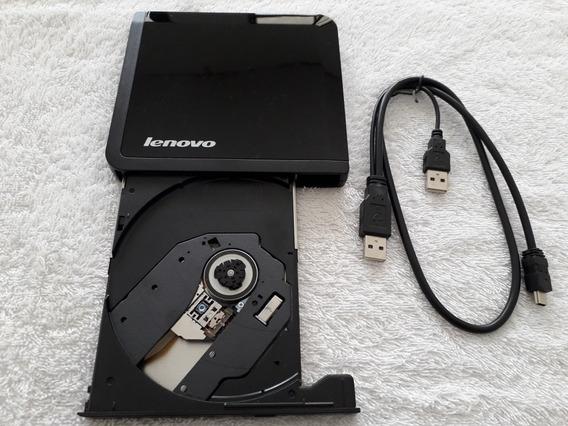 Leitor E Gravador De Cd / Dvd Lenovo Slin Usb 2.0 0a33988